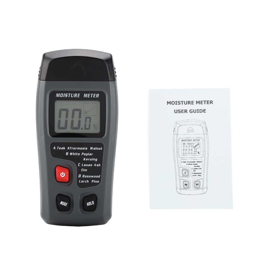 Digital LCD Outlet sale feature Sale item Wood Moisture Dampness Humidity Timber Tester Meter