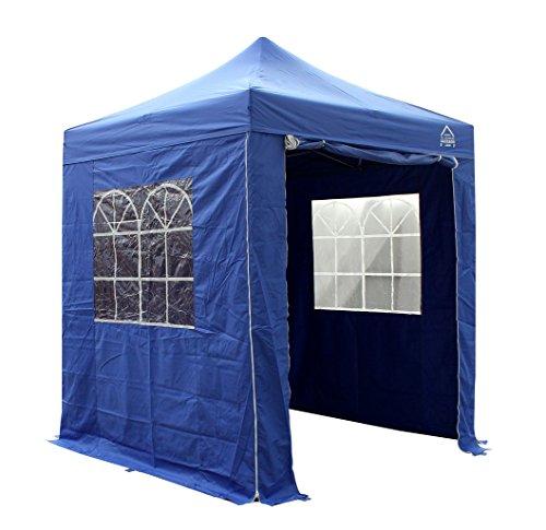 All Seasons Gazebos 2x2m Waterproof Pop up Gazebo (Premium Sides) (Royal Blue)