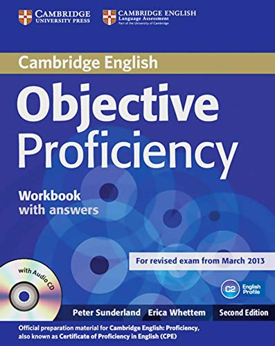 Objective Proficiency. Workbook with answers with Audio CD
