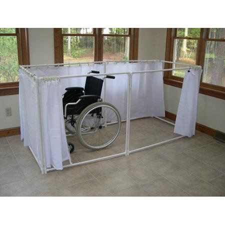 Find Discount Wheelchair Accessible Portable Shower Stall Recliner Model