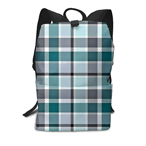 Unisex Rucksack, Philadelphia Eagles Plaid College Studenten Bookbags Reise Computer Notebooks Daypack Schule Outdoor Schultertasche Daypack