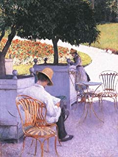 The Orange Trees by Gustave Caillebotte - 20