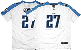 Nike Eddie George Tennessee Titans Game Day Away White Youth Jersey