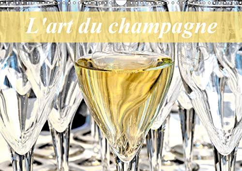 L'art du champagne (Calendrier mural 2020 DIN A3 horizontal): L'univers du champagne (Calendrier mensuel, 14 Pages )