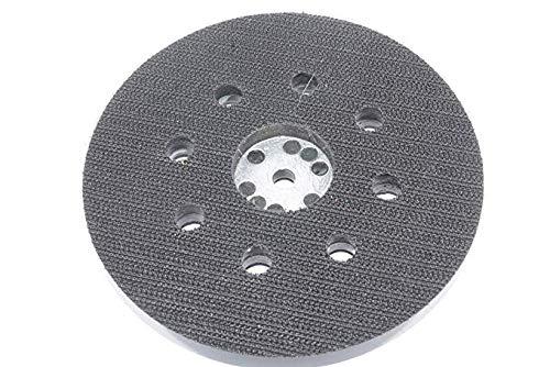 2 x Schleifteller Klett Ø 125 mm   geeignet für Bosch/Skil - für Exzenterschleifer - gelocht   Polierteller - Klettteller - Professional   Exzenterschleifer