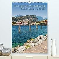 IDYLLISCHER GARDASEE Riva del Garda und Torbole (Premium, hochwertiger DIN A2 Wandkalender 2022, Kunstdruck in Hochglanz): Traumhafte Impressionen aus dem Norden (Monatskalender, 14 Seiten )