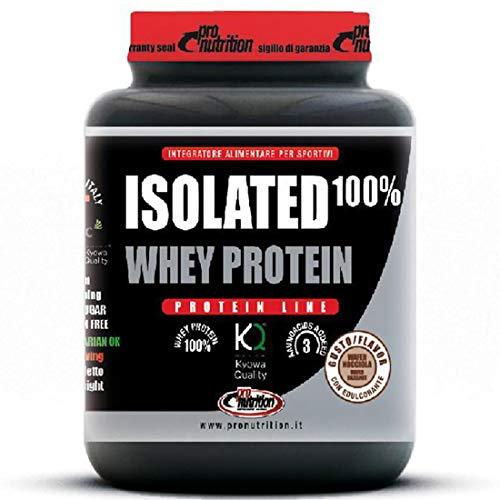 ISOLATED 100% WHEY PROTEIN [908 G] - Proteine isolate del siero di latte (WAFER NOCCIOLA)