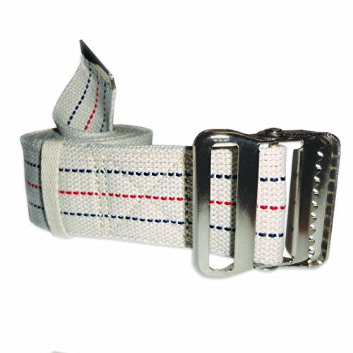 Rehabilitation Advantage Transfer & Walking Gait Belt with Metal Buckle