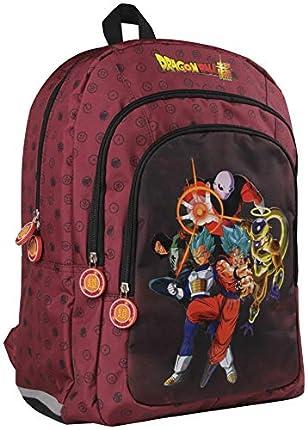 Clairefontaine Dragon Ball Estuches, 44 cm, Rojo (Bordeaux)