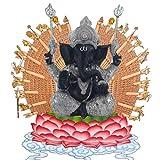 Pevfeciy La Escultura de Resina Piedra Arenisca Hue Buddism Godness Guanyin Estatua Hecha a Mano estatuilla Feng Shui Decoración Vignéswara,D