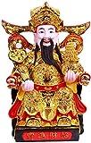 LULUDP-Decoración China Estatua de Colección Feng Shui regalo Caishen Estatua...