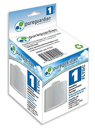 Guardian TechnologiesFLTDC Humidifier Demineralization Filter, Cartridge #1, 1,000 Hrs. Run Time, Prevents Release of Minerals Into Air, Fights White Dust, Easy Application to PureGuardian Humidifier