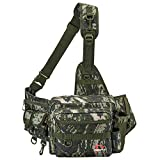 Piscifun Sling Fishing Tackle Bag,Outdoor Fishing Storage...