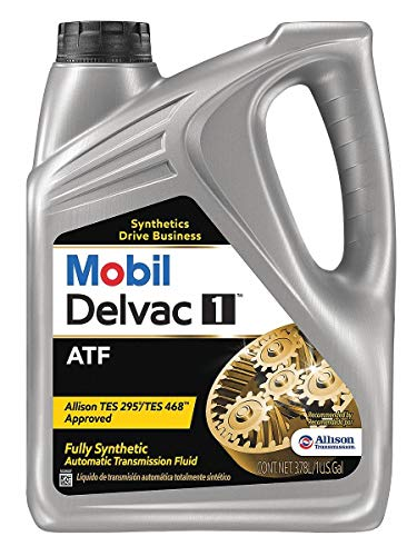 Mobil 112810  Delvac Synthetic Automatic Transmission Fluid - 1 Gallon