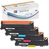 Starink - Tóner compatible con HP 117A W2070A-W2073A para impresoras HP Color Laser MFP 179FNW 178NWG 178NW 179FWG 150A 150NW (negro, cian, amarillo y magenta)