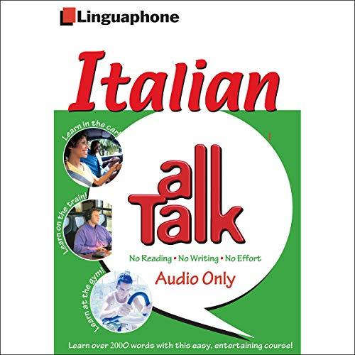 Page de couverture de Linguaphone All Talk - Italian for Beginners