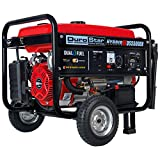 Durostar DS5500EH Portable Generator, Red/Black