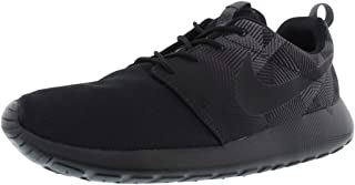 Nike Roshe ONE Print (11.5, Black/Black-Dark Grey)