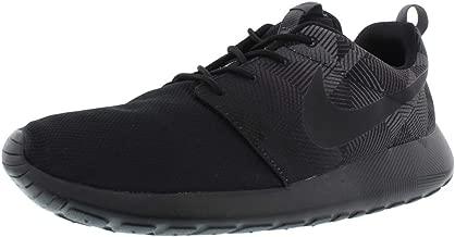Nike Roshe ONE Print (11.5, Black/Black-Dark Grey)