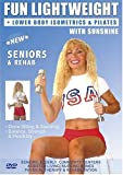 Senior Easy Light Weights Exercise DVD: Seniors / Elderly Easy Dumbbells Sitting and Standing Exercises for Strength and Balance . Easy Light Weights DVD good for Rehab & Physical Therapy. This Seniors Light Weights Fitness DVD is Good also for Easy Osteoporosis Exercises, Diabetes Exercises, Arthritis Exercises, Alzheimer's Exercises DVD. Sunshine is a Certified AARP Trainer by ACE, The American Council on Exercise.