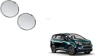 Autoladders Chrome Blind Spot Mirror Set of 2 for Mahindra Marazzo