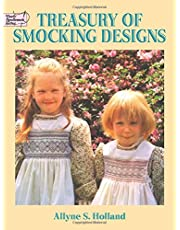 Treasury of Smocking Designs (Dover Embroidery, Needlepoint)