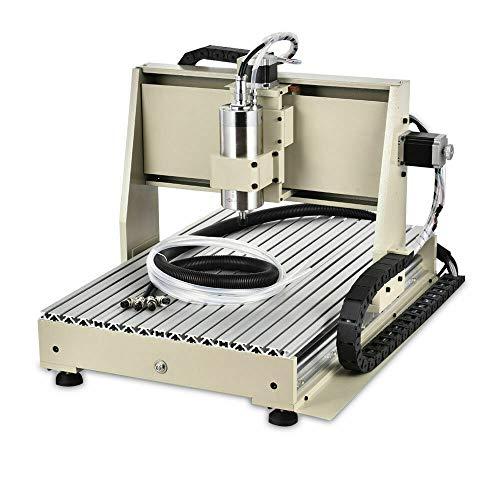 Máquina de grabado de 3 ejes VFD 6040, router, fresadora, máquina de grabado, fresadora, máquina de grabado 3D, conexión 1,5 kW
