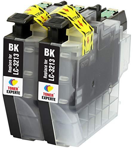 LC3213 LC3213BK TONER EXPERTE 2 Negros Cartuchos de Tinta compatibles con Brother DCP-J572DW DCP-J772DW DCP-J774DW MFC-J491DW MFC-J497DW MFC-J890DW MFC-J895DW   Alta Capacidad