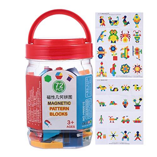 NUOBESTY Letras y números magnéticos para nevera, imanes ABC, forma magnética, puzzle, matemáticas, juguete educativo para pizarra magnética