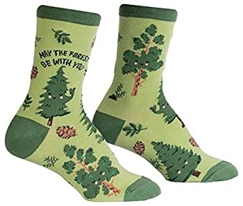 Sock It To Me Women s Crew Tree Pun Socks