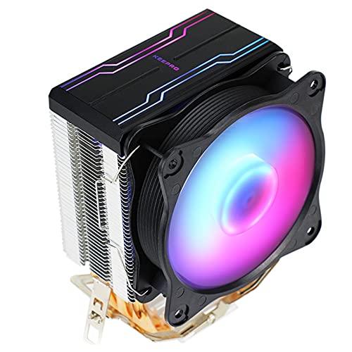 balikha Ventiladores de Torre de Enfriamiento del Enfriador de CPU del Radiador Ventilador LED de 9 Cm de Alto Rendimiento para AMD