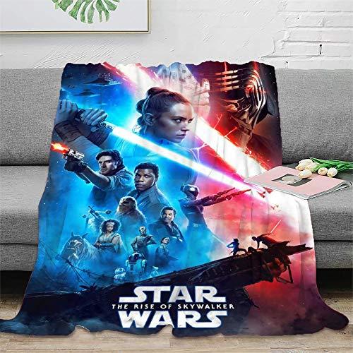 STTYE La última manta Jedi se puede utilizar como sábana de cama, manta de viaje, colcha de siesta diaria, incluso cojín de sofá. 180 x 230 cm.