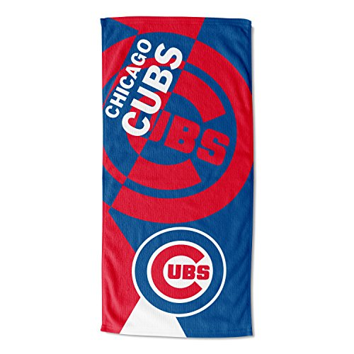 MLB Chicago Cubs 'Puzzle' Beach Towel, 34' x 72'