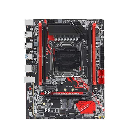 Tarjeta Madre Placa Base Fit For Maquinista X99 LGA 2011-3 Placa Base SATA M.2 PCI-E M.2 Soporte De Tragamonedas Xeon E5 V3 V4 Procesador DDR4 ECC RAM X99-RS9 PLATABON Computer Motherboard