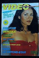 VIDEO international 8 * juillet 1983 COLUCHE HERCULE Charlotte RAMPLING Rod STEWART Richard BERRY Barbara CARRERA