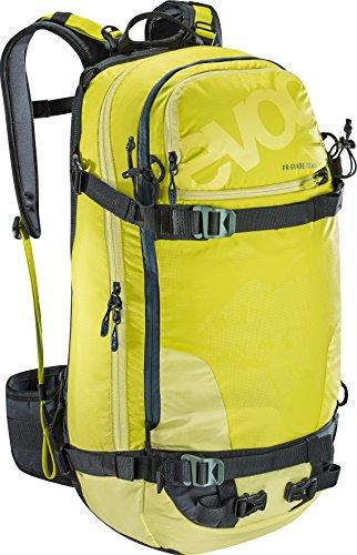 EVOC Sports GmbH Herren Fr Guide Team Protektor Rucksack, Sulphur, 56 x 27 x 22 cm, 30 Liter