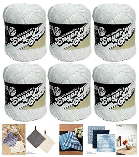 LILY Sugar N Cream Pack Of 6-70.9G Each Ball Jute