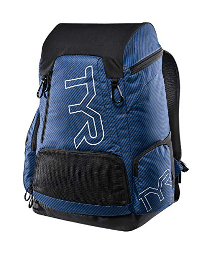 TYR Unisex's Carbon 45L Printed Backpack, Blue