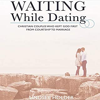 Waiting While Dating audiobook cover art