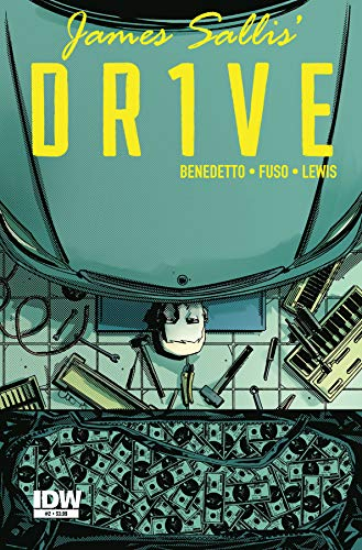 James Sallis' Drive (Dr1ve) No. 2 Regular Cover by Antonio Fuso