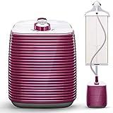 Vaporizador De Ropa, Vaporizador De Ropa Tanque Grande con Potente Flujo De Vapor Ajuste De Altura para Planchar Todos Los Paños