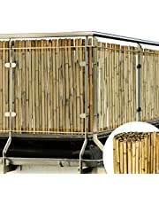 Sol Royal Bamboe lamel inkijkbescherming SolVision B38 Premium natuurlijke tuinomheining screeningrol wind- en zonwering - verschillende maten