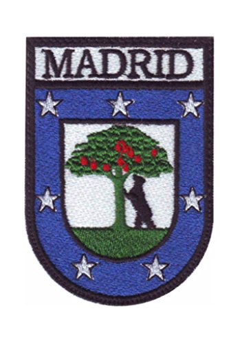 Patch Madrid Souvenir Parche termoadhesivo Bordado