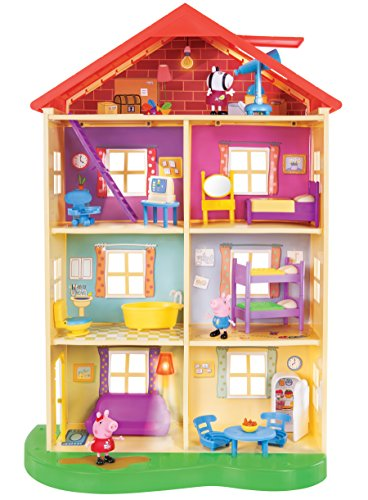 Peppa Pig's Lights & Sounds Family Home Playset Now $35 (Was $59.99)