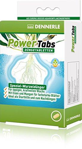 Dennerle PowerTabs Düngetabletten, Spezial Dünger für Aquarienpflanzen - für üppigen, kraftvollen Pflanzenwuchs (10 Stück)
