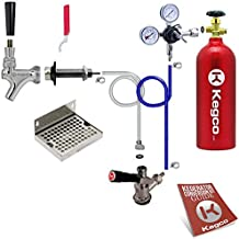 Kegco BF EBDCK-5T Conversion Kit, 1 Faucet with Tank, Deluxe