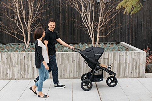 """2018 Bumbleride Indie All Terrain Stroller - Dawn Grey Mint Bumbleride """"Removable washable covers"""", Tyre pump includes"""", """"Air tyres"""", """"Wrist strap"""", """"Foldable bumper bar"""" 7"""