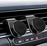 Car Phone Holder Upgraded Magnetic Air Vent Car Mount 2 Pack for iPhones,Samsung Galaxy, Google Pixel, Nexus, OnePlus, Huawei and More Black