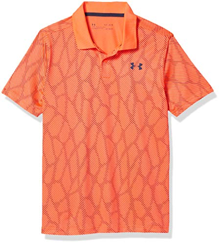 Under Armour Jungen Performance Polo 2.0 Neuheit, Jungen, Polo, Performance Polo 2.0 Novelty, Beta (628)/Academy Blue, Youth X-Small