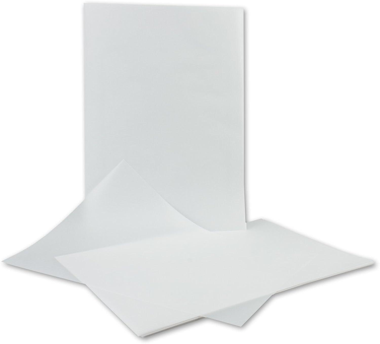 500 Blatt     Transparent-Papier DIN A4 weiß   210 x 297 mm   bedruckbar mit Laser und Tinte   92 g qm   durchsichtiges Brief-Papier   Qualitätsmarke  FarbenFroh® von GUSTAV NEUSER® B07D579J6M   Creative  ac3b57